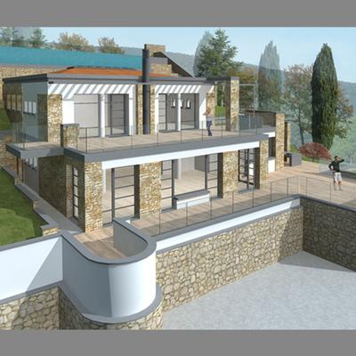 Progetto Ristrutturazione di Villa sul Lago Balaton