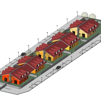Progetto realizzazione Residence