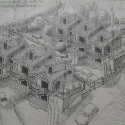 Costruzione villini valle joro  Castelnuovo di Porto Rm.