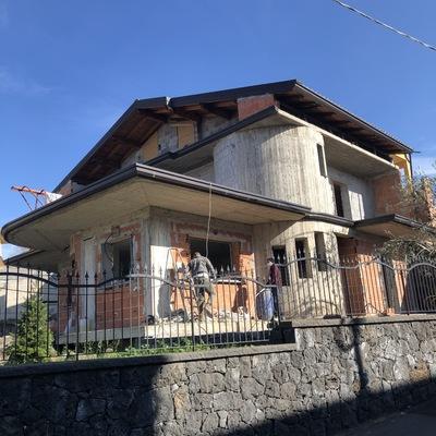 Insufflaggio Villa Ragalna (CT) - Dicembre 2020