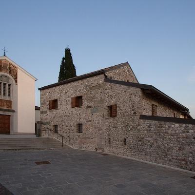 Ristrutturazione di un'antica canonica in provincia di Udine