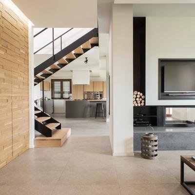 Un appartamento contemporaneo semplice e d'effetto