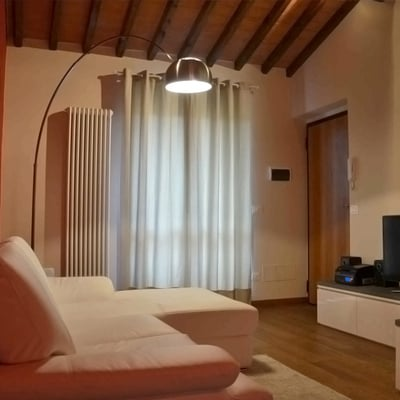 Progetto design d'interni per appartamento a Castelfranco di Sopra (AR)