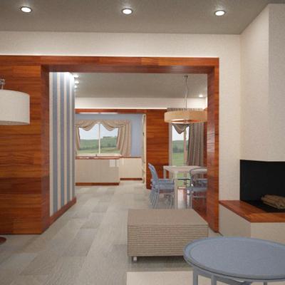 Progetto design d'interni per lussuoso appartamento a Empoli (FI)