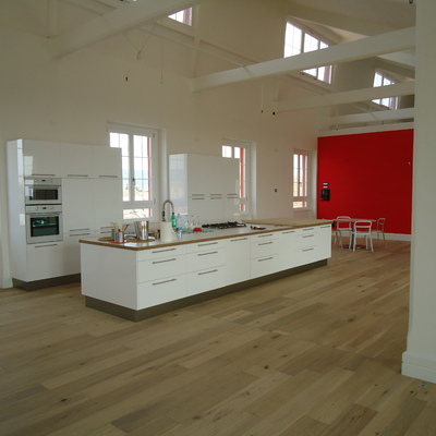Vista della cucina
