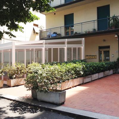 Progetto veranda per fondo commerciale a San Giovanni Valdarno (AR)