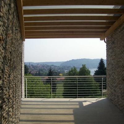 Vista panoramica dal patio