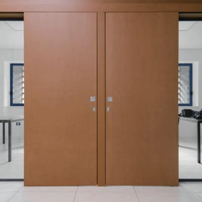 vista portale ingresso sud chiuso
