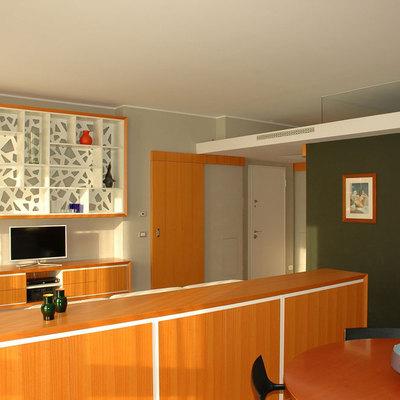 Progetto Ristrutturazione di alloggio via Domodossola