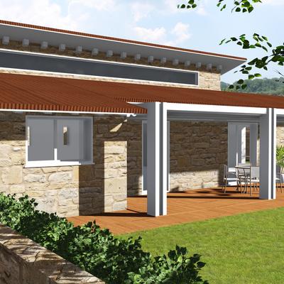 Realizzazioni di quattro unità immobiliari adibite a civile abitazione