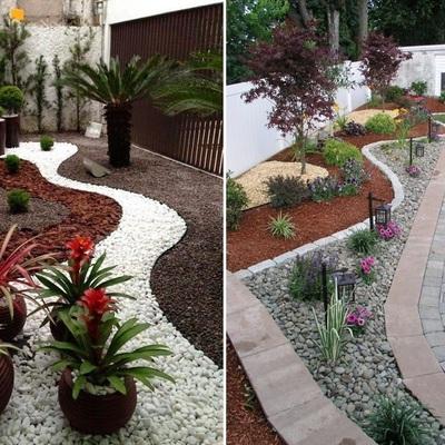 Idee e foto di decorazioni per giardino per ispirarti - Decorazioni per giardini ...