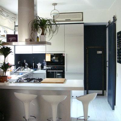 zona cucina a vista