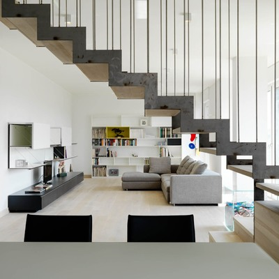 Ristrutturazione di un appartamento duplex
