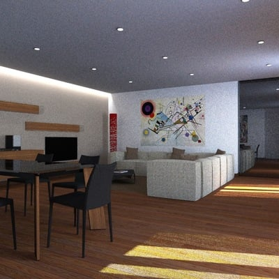 Prezzo per la categoria interior designer habitissimo for Idee zona giorno