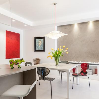 Progetto ristrutturazione appartamento Monteverde a Roma