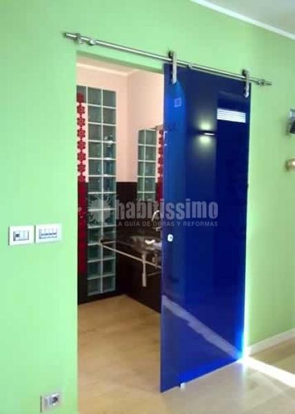 Foto porta scorrevole in vetro casali di vf2 serramenti pvc torino 37727 habitissimo - Casali porte prezzi ...