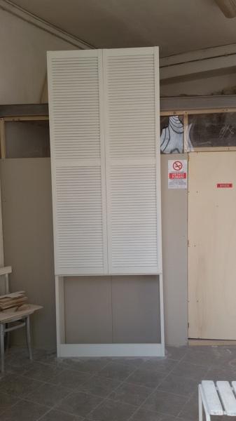 Foto armadio copri caloriferi con ante tedesche a for Copri muro esterno prezzi