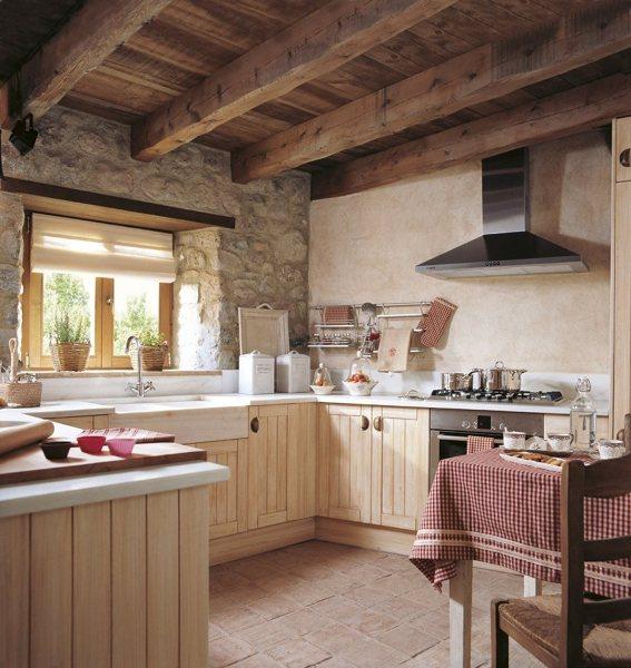 Foto arredamento cucina in casa rurale di valeria del treste 325901 habitissimo - Foto arredo casa ...