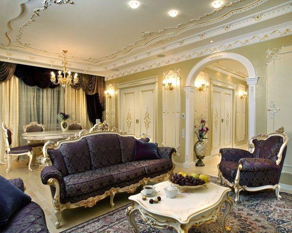foto arredamento salotto barocco di marilisa dones