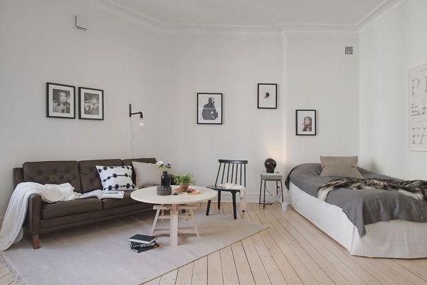 Foto arredamento stile nordico di valeria del treste 332392 habitissimo for How to hide a bed in the living room