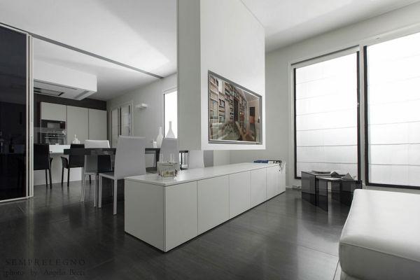 Foto arredo open space con mobili su misura di for Mobili di designer