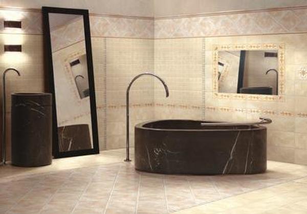 Foto bagno beige di chiovoloni costruzioni 378226 habitissimo - Piastrelle bagno beige ...