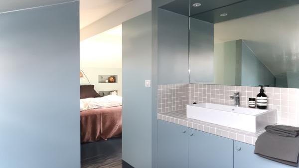Foto bagno con accesso diretto dalla camera da letto di rossella cristofaro 394957 habitissimo - Camera da letto con bagno ...