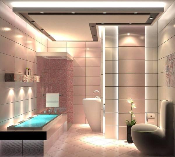 Foto bagno con doccia e faretti a led di marilisa dones 357669 habitissimo - Bagno con doccia ...