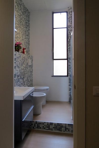 Foto bagno con parquet e mosaico di enrica leonardis architetto 351151 habitissimo - Bagno con parquet ...