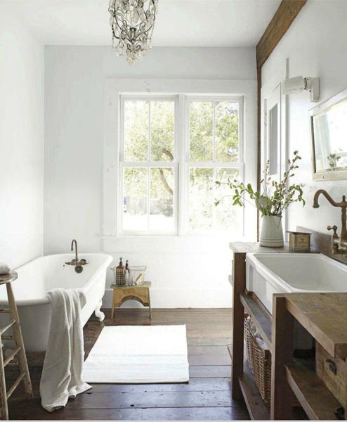 Foto bagno con pavimento in legno di valeria del treste 340121 habitissimo - Bagno pavimento legno ...