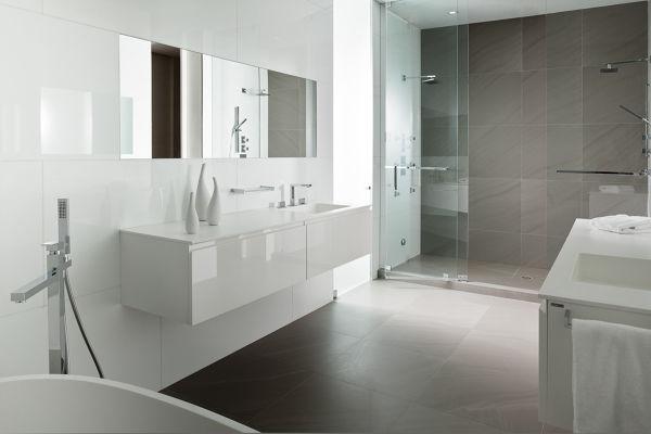 Bagni Piastrelle Bianche : Foto bagno con piastrelle bianche di rossella cristofaro