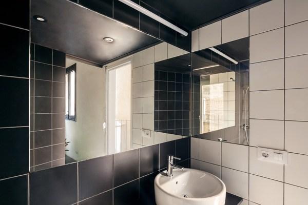 Bagno con mattonelle bianche e nere: 20 bellissimi bagni con