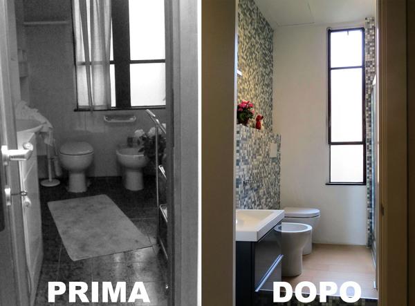 Foto: Bagno Prima e Dopo di Enrica Leonardis Architetto #351154 - Habitissimo
