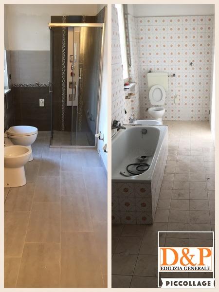 Foto: Bagno Prima e Dopo di D&p Edilizia Generale #408883 - Habitissimo