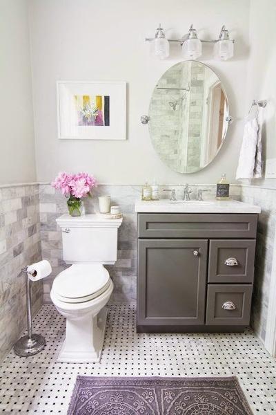 Foto bagno stile romantico di valeria del treste 278783 for Stile romantico arredamento