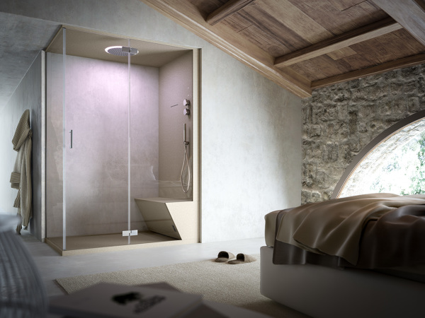 Foto: Bagno Turco Doccia Camera da Letto di Claudia Loiacono ...