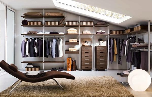 Foto cabina armadio sottotetto di marilisa dones 370314 habitissimo - Camera da letto sottotetto ...