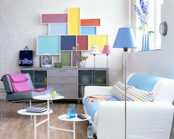 Foto: Cambiare Casa Soggiorno Colorato di Marilisa Dones #360392 ...