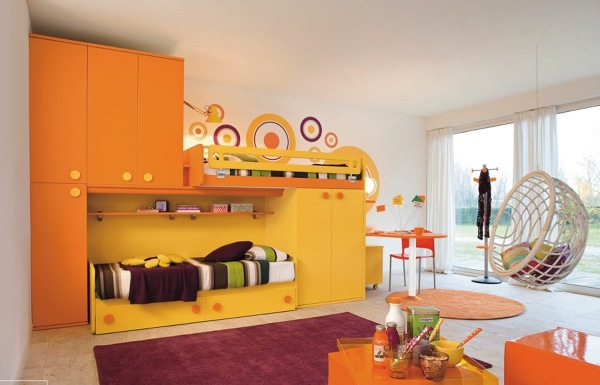Foto: Camera Bambini Giallo e Arancione di Valeria Del Treste ...