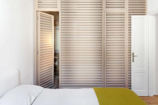 Foto camera con bagno e cabina armadio arch francesco colorni elena tirinnanzi foto giulio - Bagno e cabina armadio ...