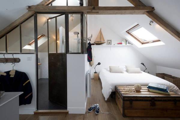 Foto: camera con bagno in mansarda di rossella cristofaro #394960