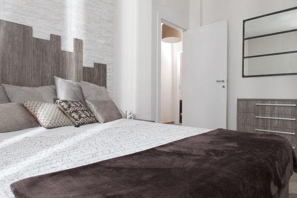 Camere Da Letto Arredate Vintage : Foto camera da letto arredata con mobili su misura di semprelegno