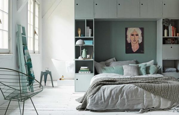Foto camera da letto con armadio a ponte di rossella cristofaro 390019 habitissimo - Camera da letto armadio a ponte ...