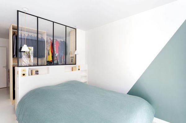 Cabina Armadio In Camera Da Letto : Foto camera da letto con cabina armadio e vetrata di rossella