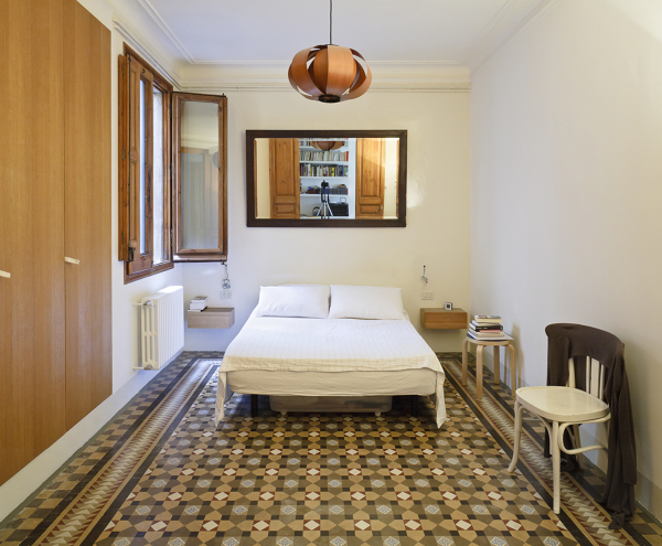 Camere Da Letto Tradizionali : Foto camera da letto con pavimento tradizionale di rossella