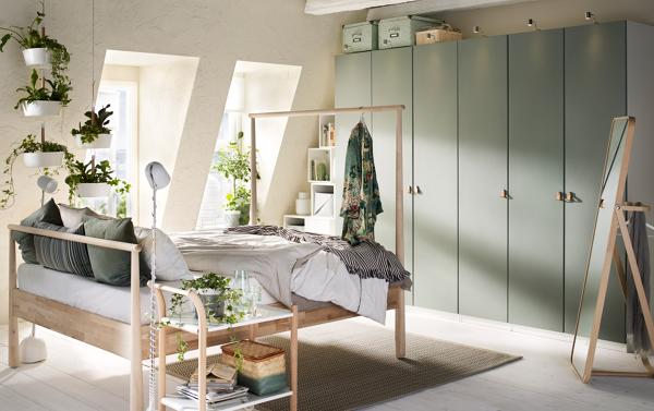 Design Camere Da Letto : 5 soluzioni per arredare la camera da letto con meno di 1000