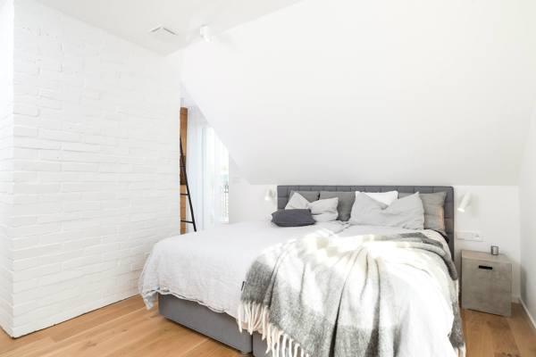Foto camera da letto mansarda di rossella cristofaro