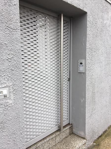 Cancelli In Acciaio Inox.Foto Cancello Pedonale Con Maglia In Acciaio Inox Di Metal System
