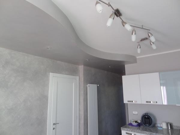 Foto cartongesso onda di home makeover building 317822 - Idee per controsoffitti in cartongesso ...