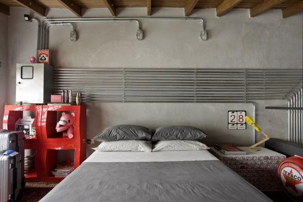 Foto: casa con impianto elettrico a vista di rossella cristofaro